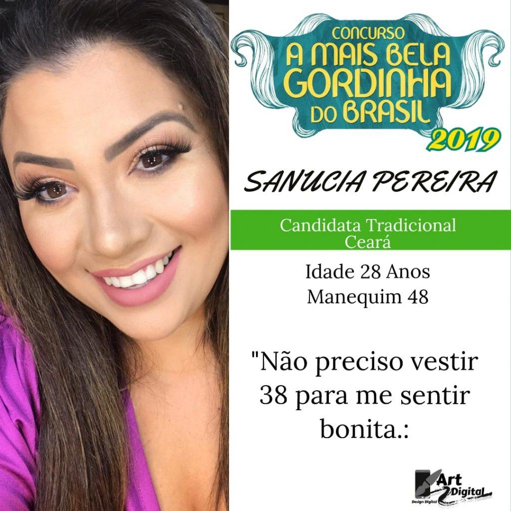 A mais bela gordinha do Ceará tradicional - Sanucia Pereira