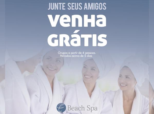 Beach Spa - Hotel, completo e saudável