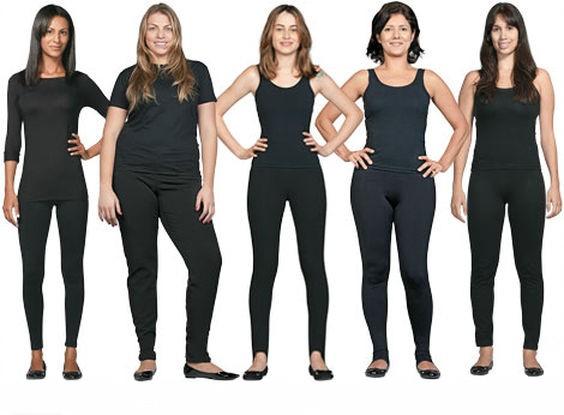 5 Principais tipos físicos femininos. Qual é o seu?