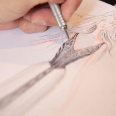 Empreendedorismo feminino com ilustração digital personalizada por Paula Patrícia