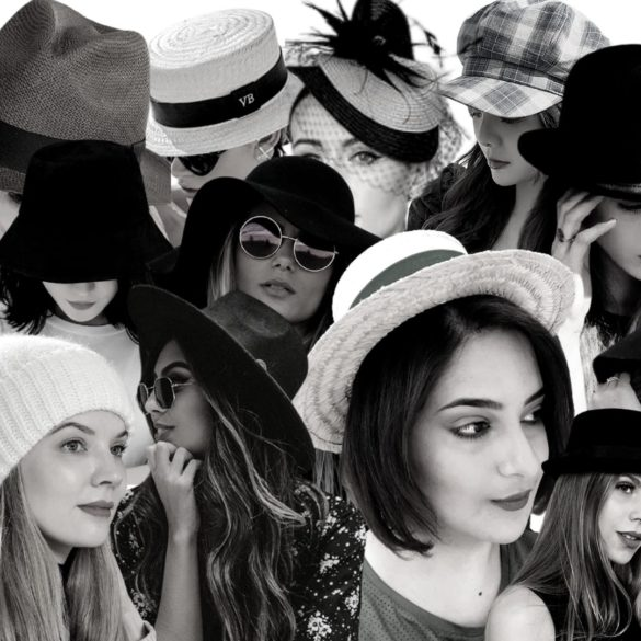 15 Tipos de chapéus femininos - seus nomes e características